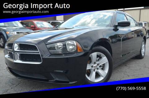 2014 Dodge Charger for sale at Georgia Import Auto in Alpharetta GA