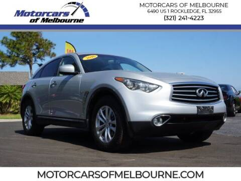 2016 Infiniti QX70 for sale at Motorcars of Melbourne in Rockledge FL