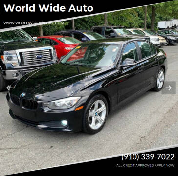 2015 BMW 3 Series for sale at World Wide Auto in Fayetteville NC