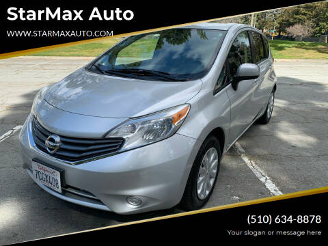 2014 Nissan Versa Note for sale at StarMax Auto in Fremont CA