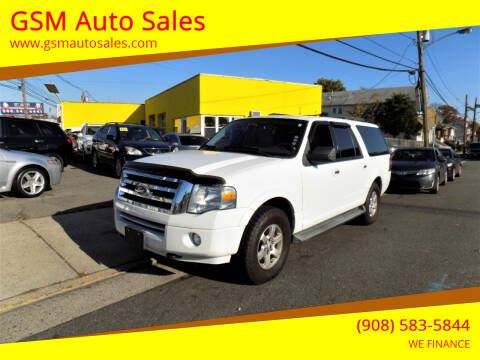 2010 Ford Expedition EL for sale at GSM Auto Sales in Linden NJ