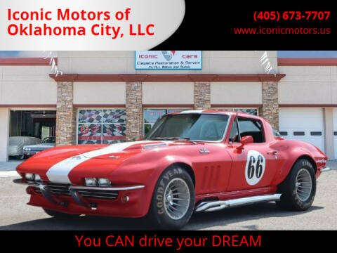 1966 Chevrolet Corvette for sale at Iconic Motors of Oklahoma City, LLC in Oklahoma City OK