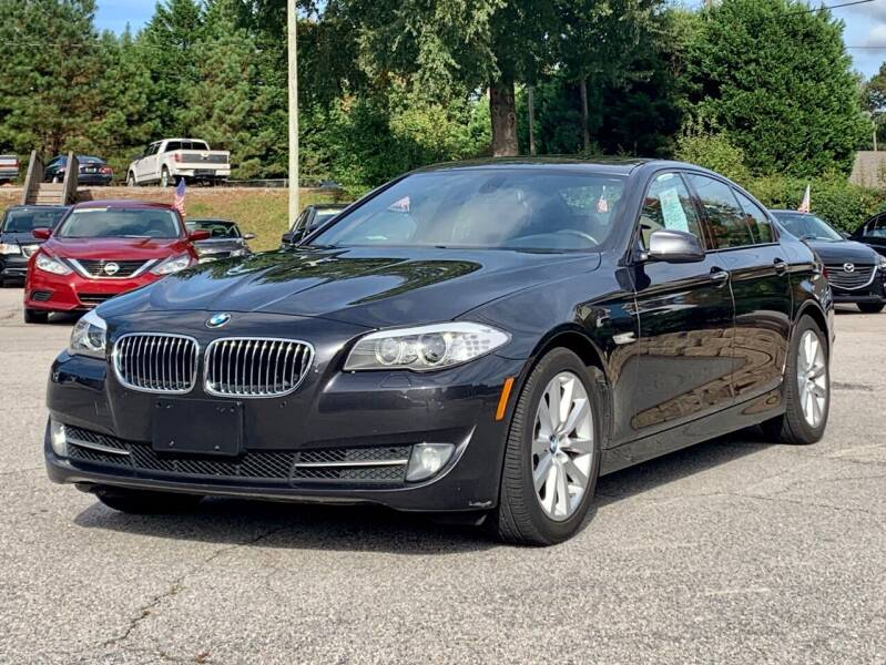 2012 BMW 5 Series for sale at GR Motor Company in Garner NC