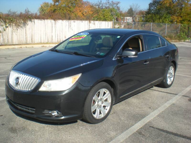 2012 Buick LaCrosse for sale at 611 CAR CONNECTION in Hatboro PA