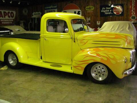 1946 Ford F-100 for sale at CANTWEIGHT CLASSICS in Maysville OK