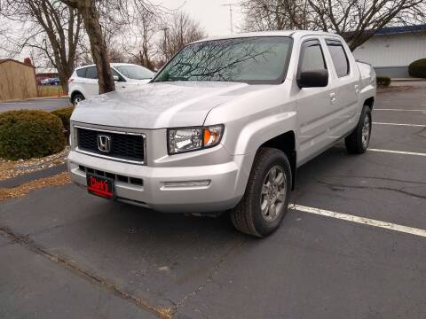 2007 Honda Ridgeline for sale at Clarks Auto Sales in Connersville IN