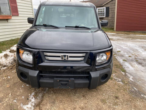 2007 Honda Element for sale at Richard C Peck Auto Sales in Wellsville NY