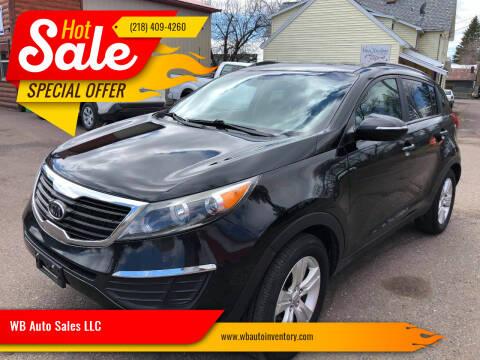 2011 Kia Sportage for sale at WB Auto Sales LLC in Barnum MN