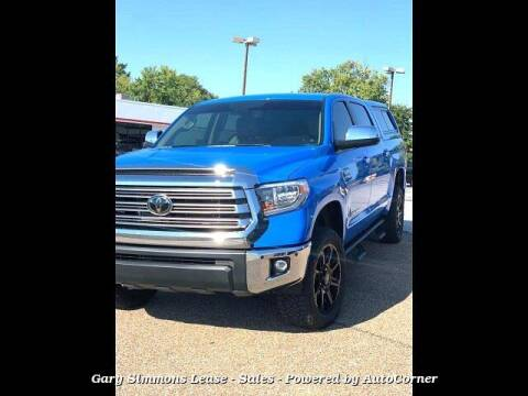 2021 Toyota Tundra for sale at Gary Simmons Lease - Sales in Mckenzie TN