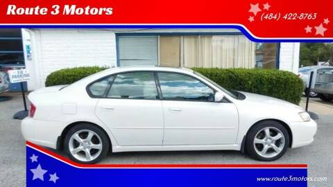 2006 Subaru Legacy for sale at Route 3 Motors in Broomall PA