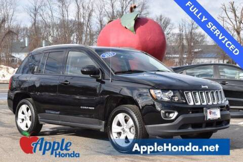 2015 Jeep Compass for sale at APPLE HONDA in Riverhead NY