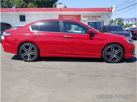 2016 Honda Accord for sale at Dealers Choice Inc in Farmersville CA