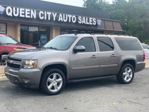 2008 Chevrolet Suburban for sale at Queen City Auto Sales in Charlotte NC
