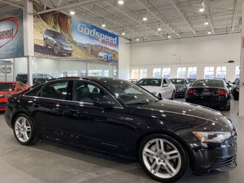 2014 Audi A6 for sale at Godspeed Motors in Charlotte NC