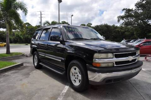 2004 Chevrolet Tahoe for sale at STEPANEK'S AUTO SALES & SERVICE INC. in Vero Beach FL