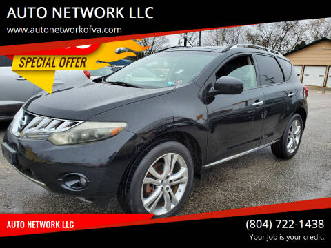 2009 Nissan Murano for sale at AUTO NETWORK LLC in Petersburg VA