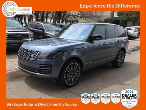 2019 Land Rover Range Rover for sale at Dallas Auto Finance in Dallas TX