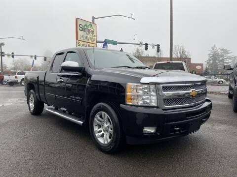 2012 Chevrolet Silverado 1500 for sale at SIERRA AUTO LLC in Salem OR
