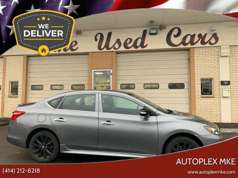 2018 Nissan Sentra for sale at Autoplexmkewi in Milwaukee WI
