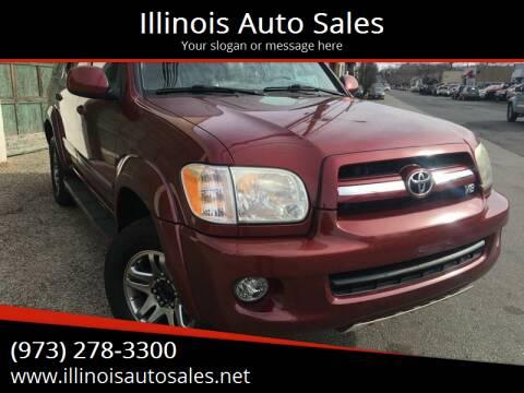 2006 Toyota Sequoia for sale at Illinois Auto Sales in Paterson NJ