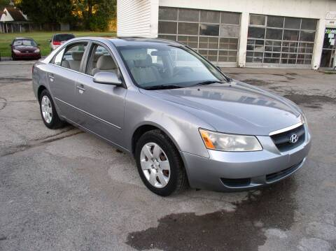 2008 Hyundai Sonata for sale at Angelo's Auto Sales in Lowellville OH