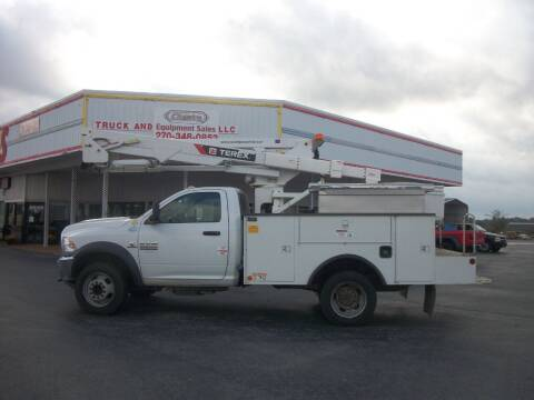 2013 Dodge Ram 5500 4x4 Bucket Truck for sale at Classics Truck and Equipment Sales in Cadiz KY
