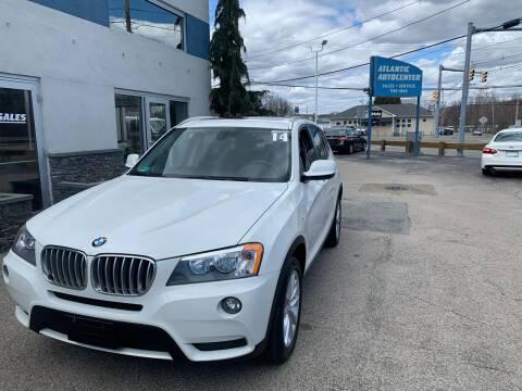 2014 BMW X3 for sale at Atlantic AutoCenter in Cranston RI