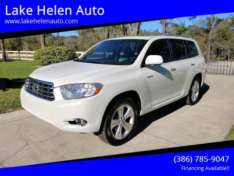 2010 Toyota Highlander for sale at Lake Helen Auto in Lake Helen FL