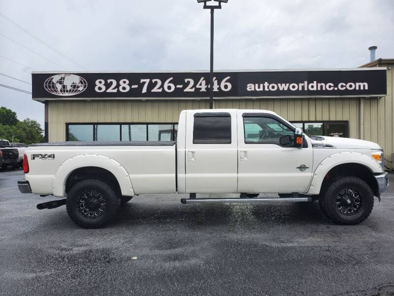 2015 Ford F-250 Super Duty for sale at AutoWorld of Lenoir in Lenoir NC
