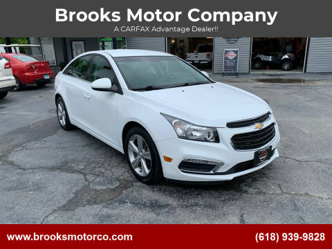 2015 Chevrolet Cruze for sale at Brooks Motor Company in Columbia IL