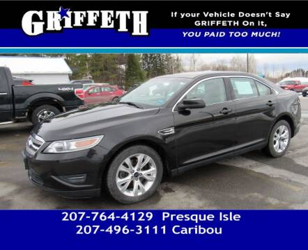 2011 Ford Taurus for sale at Griffeth Mitsubishi - Pre-owned in Caribou ME