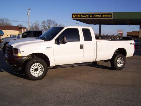 2002 Ford F-350 Super Duty for sale at R & S TRUCK & AUTO SALES in Vinita OK