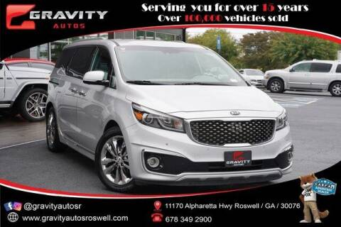 2018 Kia Sedona for sale at Gravity Autos Roswell in Roswell GA