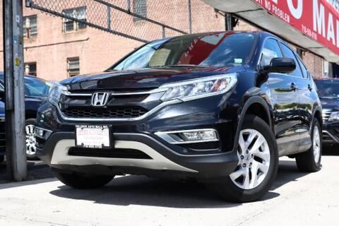 2015 Honda CR-V for sale at HILLSIDE AUTO MALL INC in Jamaica NY