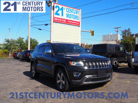 2014 Jeep Grand Cherokee for sale at 21st Century Motors in Fall River MA