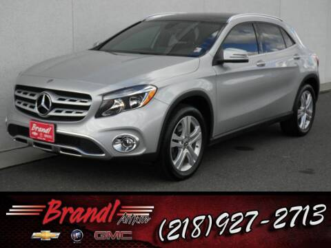 2018 Mercedes-Benz GLA for sale at Brandl GM in Aitkin MN