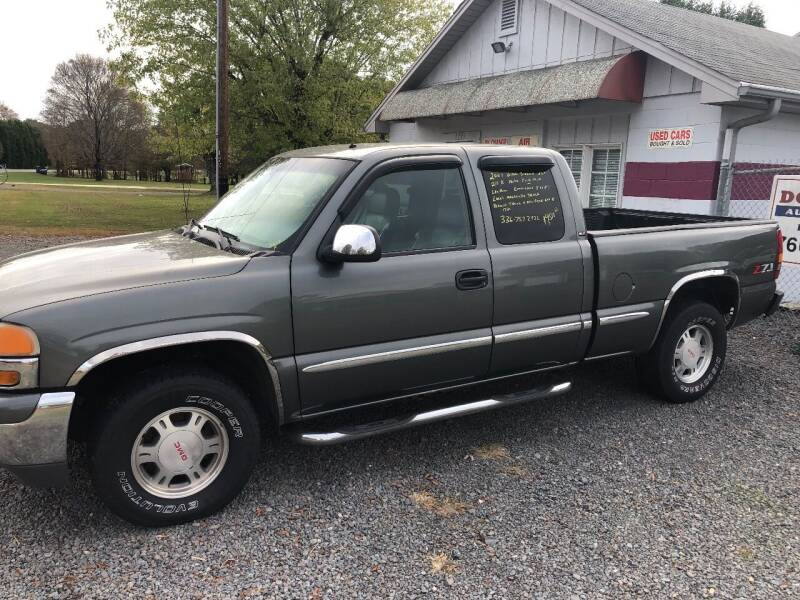2001 GMC Sierra 1500 for sale at Douthit Automotive, LLC in Advance NC