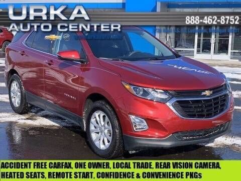 2018 Chevrolet Equinox for sale at Urka Auto Center in Ludington MI