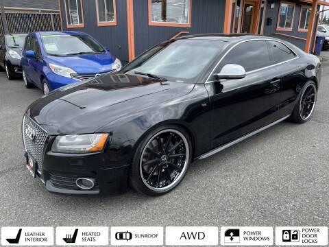 2008 Audi S5 for sale at Sabeti Motors in Tacoma WA