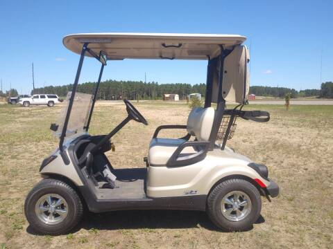 2015 Yamaha EFI Gas Golf Cart for sale at Elk Creek Motors LLC in Park Rapids MN