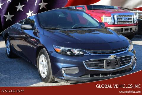2017 Chevrolet Malibu for sale at Global Vehicles,Inc in Irving TX