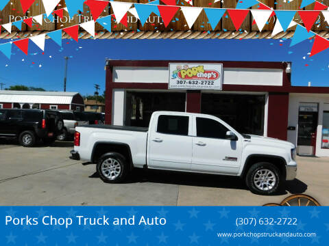 2016 GMC Sierra 1500 for sale at Pork Chops Truck and Auto in Cheyenne WY
