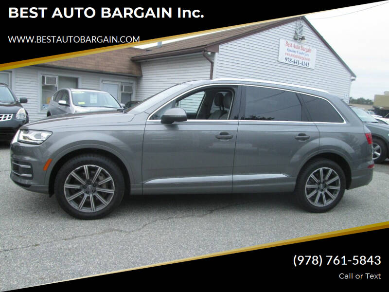 2017 Audi Q7 for sale at BEST AUTO BARGAIN inc. in Lowell MA