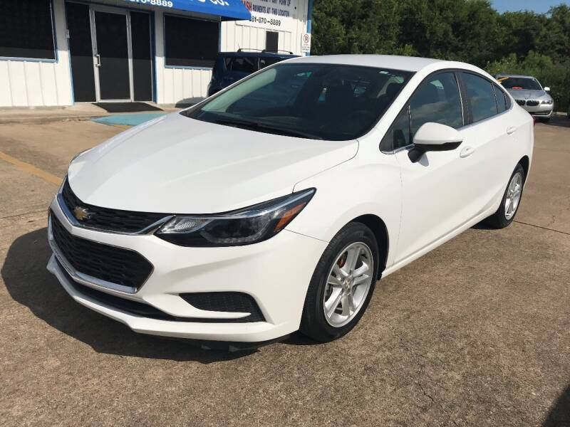 2016 Chevrolet Cruze for sale at Discount Auto Company in Houston TX