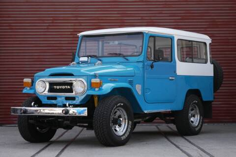 1977 Toyota Land Cruiser for sale at Sierra Classics & Imports in Reno NV