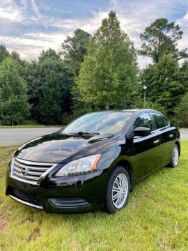 2015 Nissan Sentra for sale at A & A AUTOLAND in Woodstock GA