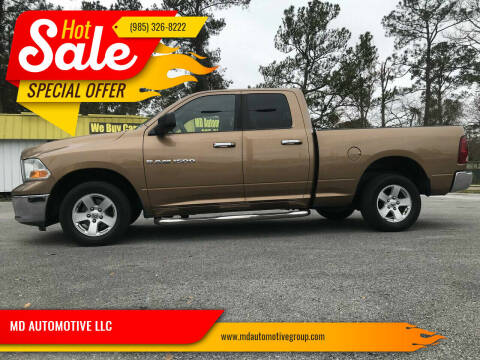 2011 RAM Ram Pickup 1500 for sale at MD AUTOMOTIVE LLC in Slidell LA