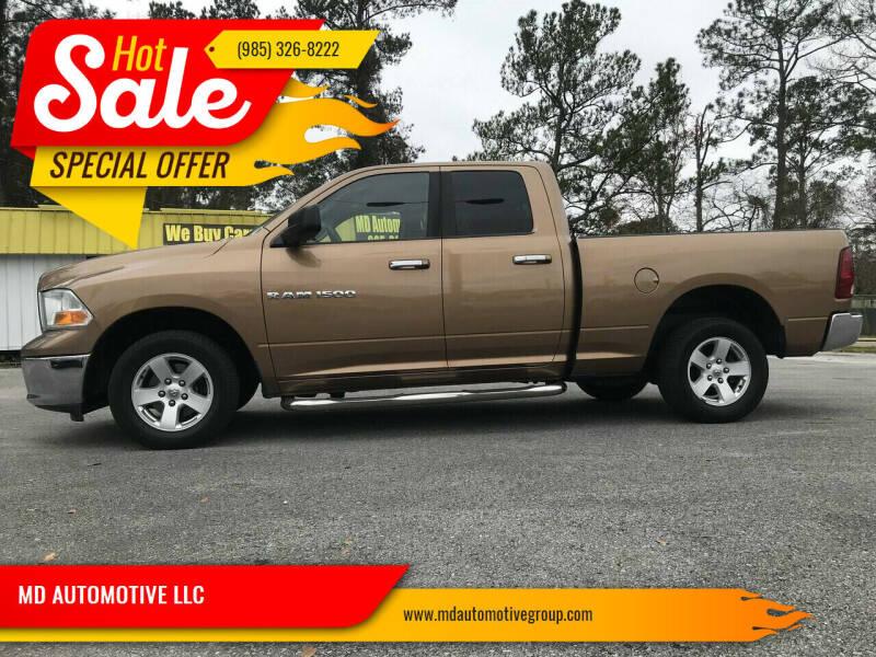 2011 RAM Ram Pickup 1500 for sale at MD AUTOMOTIVE LLC in Slidell LA