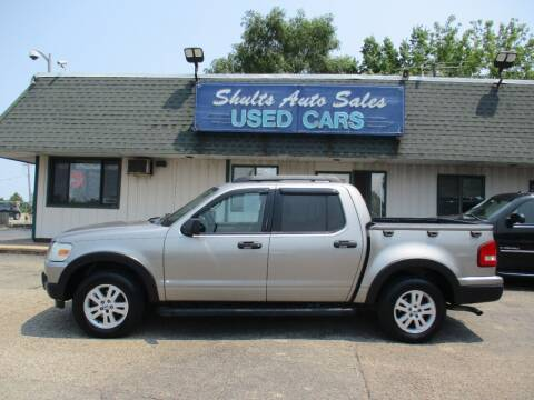 2008 Ford Explorer Sport Trac for sale at SHULTS AUTO SALES INC. in Crystal Lake IL