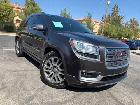 2013 GMC Acadia for sale at Boktor Motors in Las Vegas NV